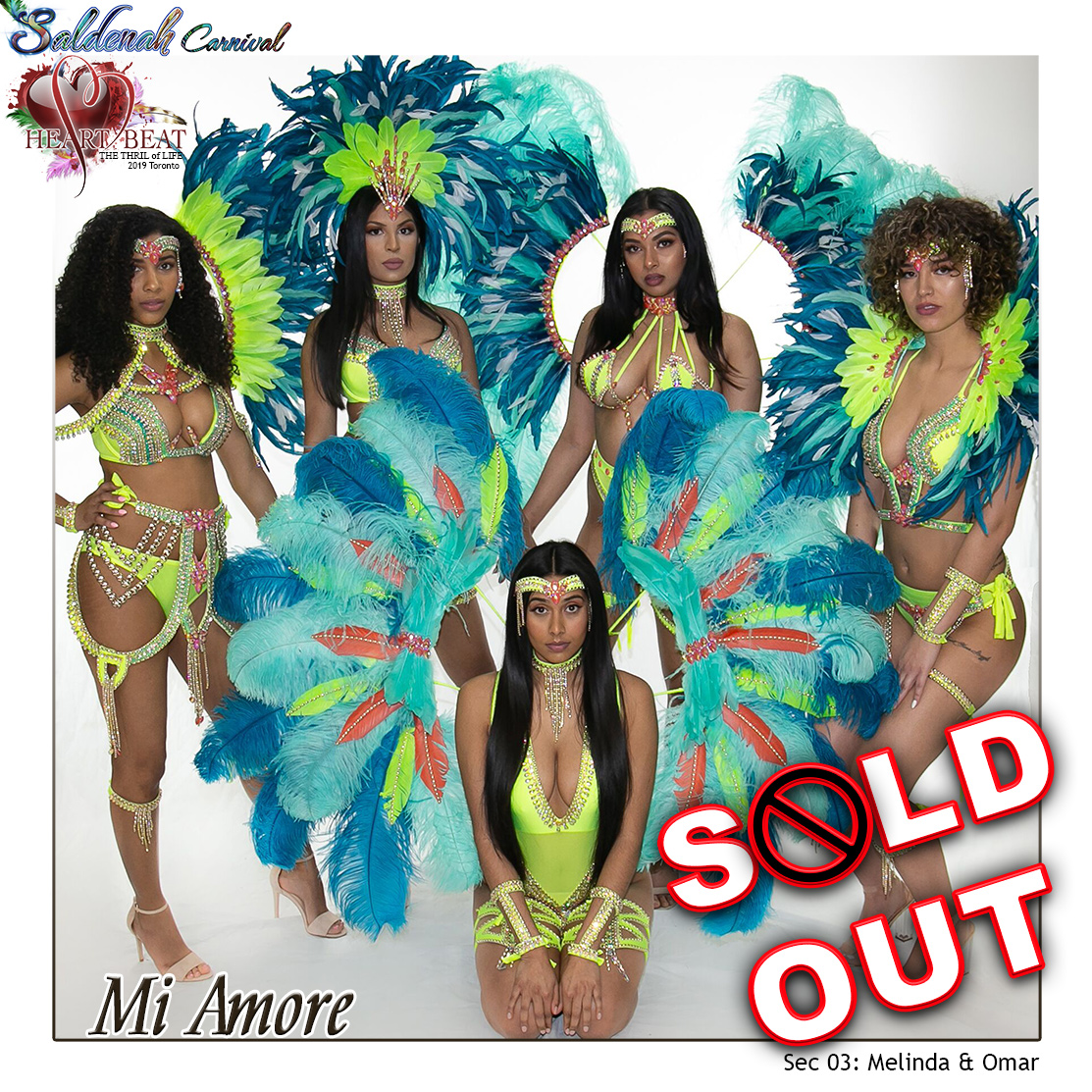 Saldenah Carnival 2019 - Section 3 Mi Amore SOLD OUT