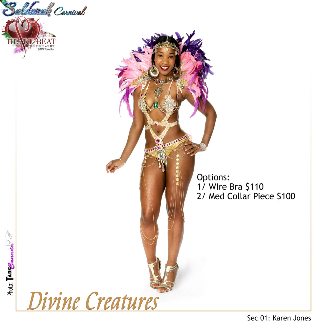 Saldenah Carnival Section 1 Divine Creatures