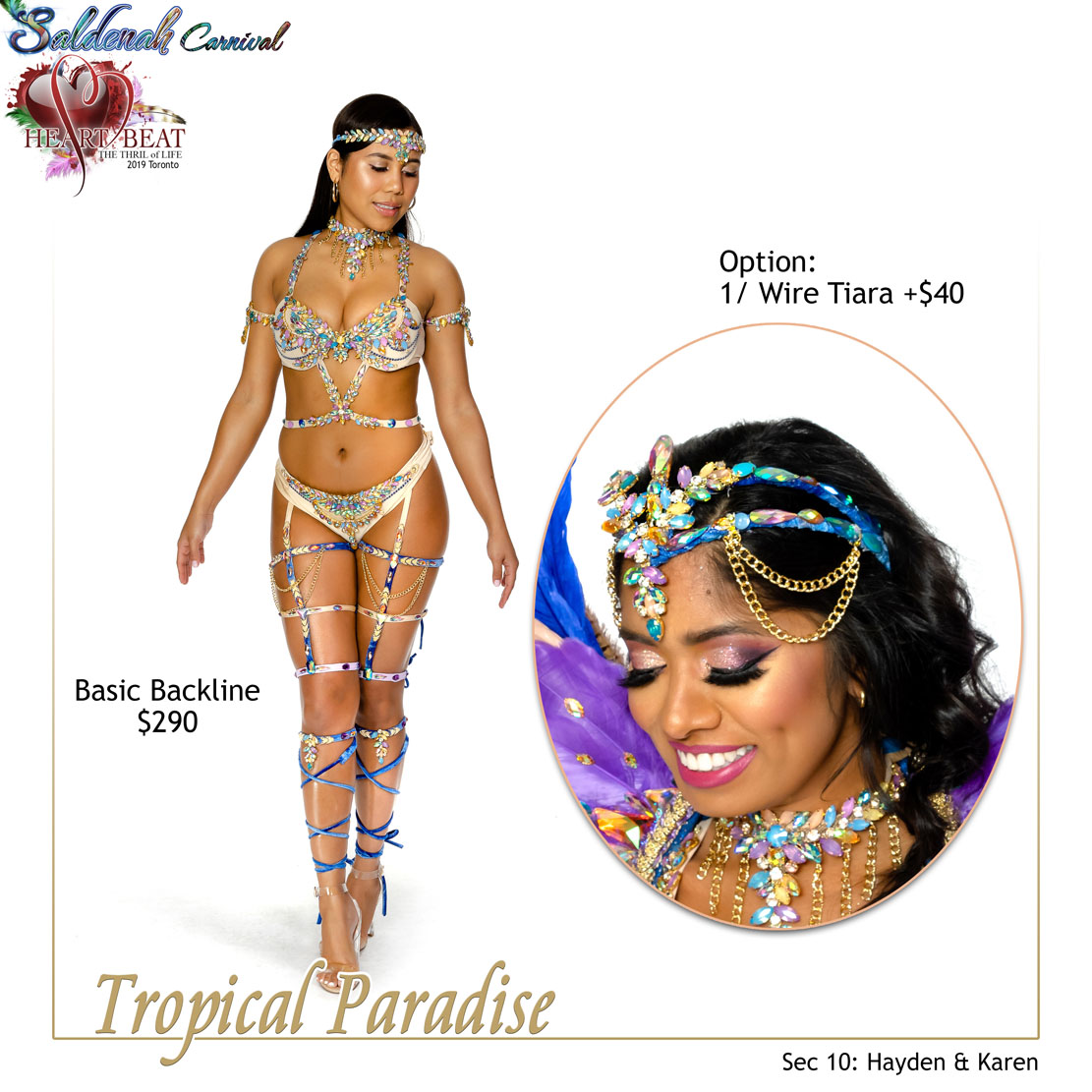 Saldenah Carnival Section 10 Tropical Paradise